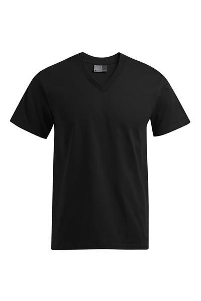 Basic V-Neck-T  T-Shirt, V-Ausschnitt, Single Jersey, 100 % Baumwolle, 150 g/m², S–XXL. Preis: 5,49 € incl. 19% MwSt.  Verfügbare Größen: S, M, L, XL, XXL  Artikelnummer: 10401
