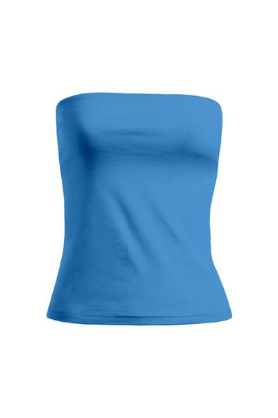 Women's Tube Top trägerlos, Bustiereinsatz für eine perfekte Passform, Single Jersey, 95 % Baumwolle, 5 % Elasthan, 210 g/m², XS–L. Preis: 6,99€ inlc. 19% MwSt.  Verfügbare Größen: XS, S, M, L Artikelnummer: 10302