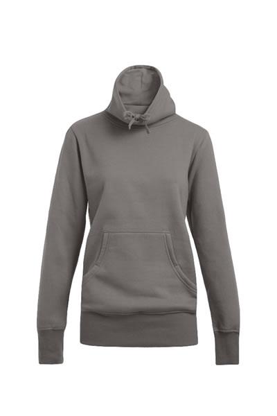 Women's Sweater Turtleneck  Sweatshirt, Rollkragen mit Kordelzug, Kängurutasche, Elasthanbündchen an Arm und Saum, figurbetont, Molton brushed, 80 % Baumwolle, 20 % Polyester, 280 g/m², XS–XL. Preis: 19,99€ inlc. 19% MwSt.  Verfügbare Größen: XS, S, M, L, XL    Artikelnummer: 10311