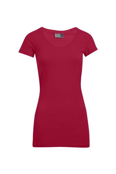 Women's Slim Fit V-Neck-  Long T-Shirt, V-Ausschnitt, figurbetont, Single Jersey, 95 % Baumwolle, 5 % Elasthan, 180 g/m², XS–XXXL.  Preis: 11,99€ inlc. 19% MwSt.  Verfügbare Größen: XS, S, M, L, XL, XXL, XXXL     Artikelnummer: 10305