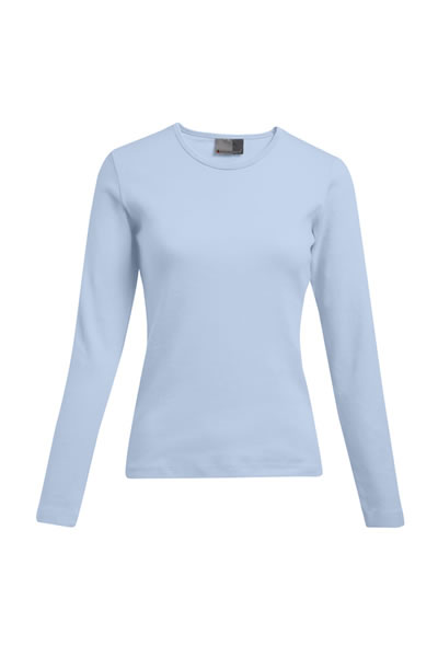 Women's Interlock-T LS     Langarm T-Shirt, leicht tailliert,  100 % Baumwolle, 220 g/m², S–XXL. Preis: 6,99€ inlc. 19% MwSt.  Verfügbare Größen: S, M, L, XL, XXL    Artikelnummer: 10306