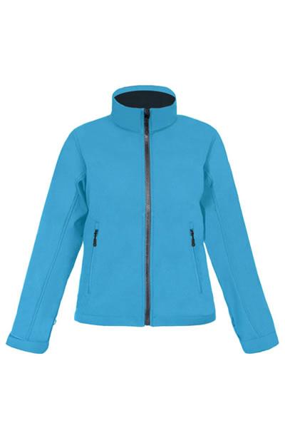 Women's Softshell Jacket C⁺  , Stehkragen, Reißverschluss mit Regen- und Kinnschutz, verstellbare Armabschlüsse mit Klettverschluss, Tunnelzug am Saum mit Kordelstopper innen, 2 Seitentaschen mit Reißverschluss, Fixierung für Aussenjacke, neutrales Grössenetikett, Femininer Schnitt, Atmungsaktiv, Wasserdicht 8.000 mm, Softshell Bonded Fleece bi-elastisch, Außen: 95 % Polyester, 5 % Elasthan, Innen 100 % Polyester, 310 g/m², S–XXXL.  Jacken Konzept 4-in-1, kombinierbar mit Aussenjacke 7549  Preis: 44,99€ inlc. 19% MwSt.  Verfügbare Größen: S, M, L, XL, XXL, XXXL  Artikelnummer: 10317