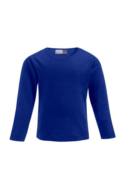 Kid's-T LS  Langarm T-Shirt, Interlock, 100 % Baumwolle, 220 g/m², 104–164. Preis: 7,90€ incl.19% MwSt.   Verfügbare Größen: 104, 116, 128, 140, 152, 164  Artikelnummer: 10512