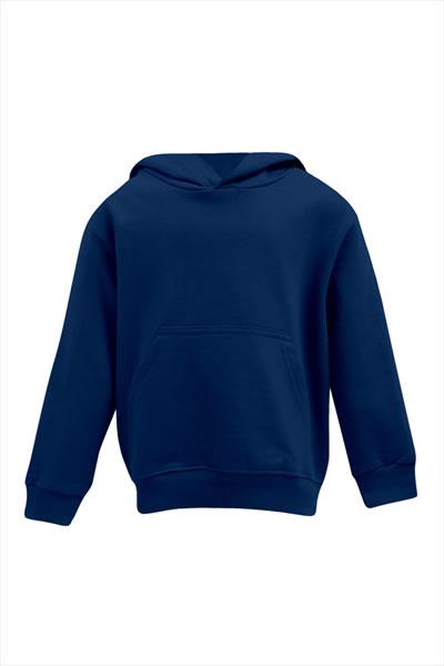 Kid's Hoody  Sweatshirt, Kängurutasche, Elasthanbündchen an Arm und Saum, Molton brushed, 100 % Baumwolle, 320 g/m², 104–164. Preis: 16,90€ incl.19% MwSt.  Verfügbare Größen: 104, 116, 128, 140, 152, 164  Artikelnummer: 10513