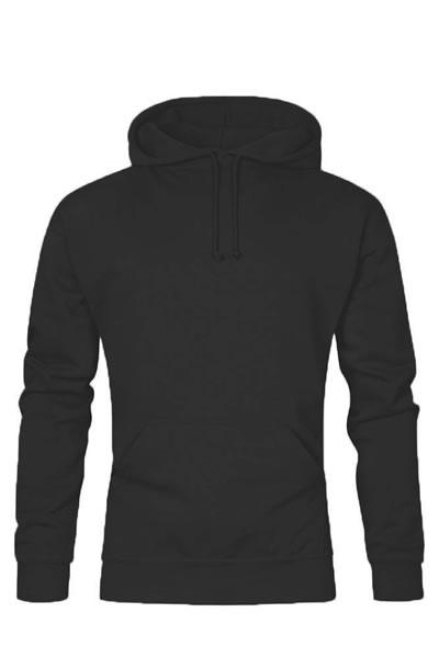 Men's Hoody 80/20  Sweatshirt, Kängurutasche, Doppelkapuze, Elasthanbündchen an Arm und Saum, Molton brushed, 80 % Baumwolle, 20 % Polyester, 280 g/m², S–5XL. Preis: 23,99€ incl.19% MwSt. Artikelnummer: 104121