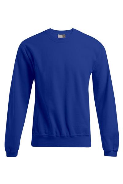Men's Sweater 80/20  Sweatshirt, Elasthanbündchen an Arm und Saum, Molton brushed, 80 % Baumwolle, 20 % Polyester, 280 g/m², S–XXXL. Preis: 16,99€ incl.19% MwSt.  Verfügbare Größen: S, M, L, XL, XXL, XXXL  Artikelnummer: 10415