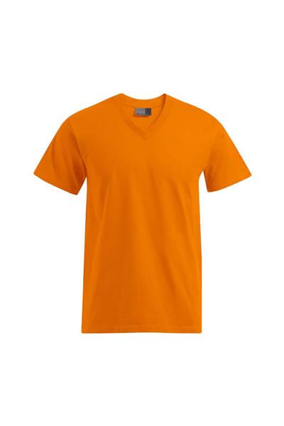 Premium V-Neck-T  T-Shirt, V-Ausschnitt, Single Jersey, 100 % Baumwolle, 180 g/m², S–5XL.  Preis: 7,99€ incl.19% MwSt.  Verfügbare Größen: S, M, L, XL, XXL, XXXL, 4XL, 5XL  Artikelnummer: 10404