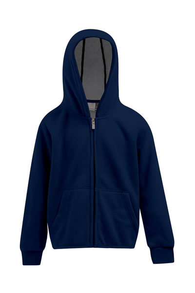 Kid's Hooded Fleece Jacket  Jacke mit Kapuze, durchgehender und verdeckter Reißverschluss, Kängurutaschen, Ziernaht an Tasche und Kapuze, Elasthanbündchen am Arm, Innenseite in Kontrastfarbe, Antipilling-Ausrüstung, Fleece, 100 % Polyester, 320 g/m²  Preis: 18,90€ incl. 19% MwSt  Verfügbare Größen: 104, 116, 128, 140, 152, 164 Artikelnummer: 10516