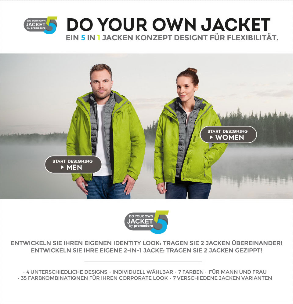 Do your own jacket