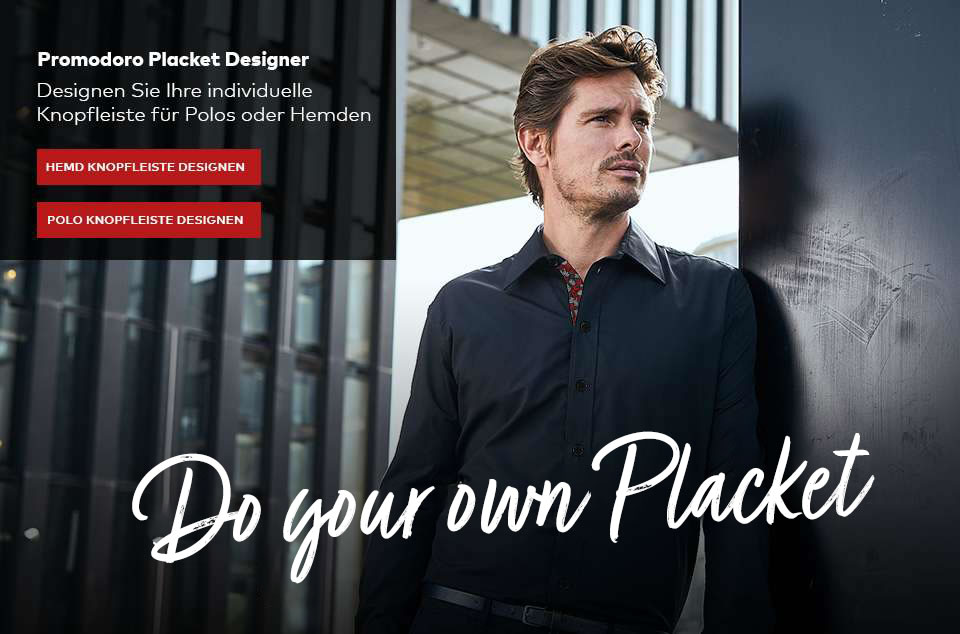 Do your own placket